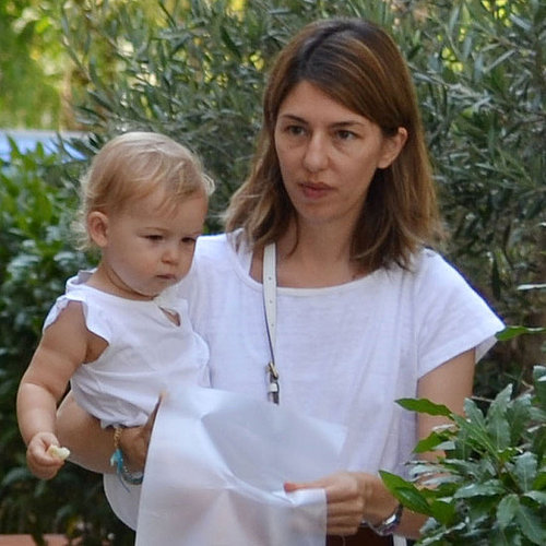 Sofia Coppola Carrying Cosima Mars in Bernalda Pictures