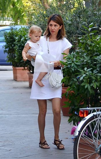 Sofia Coppola spent time with her daughter Cosima Mars.