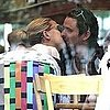 Kate Hudson and Matthew Bellamy Kiss With Baby Bing Pictures