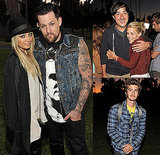 Nicole, Joel, Andrew, and More Make a Cemetery Stop to Support Band of Outsiders