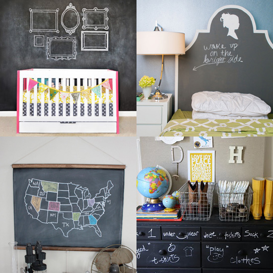 Chalk It Up: 10 Chalkboard Paint Projects
