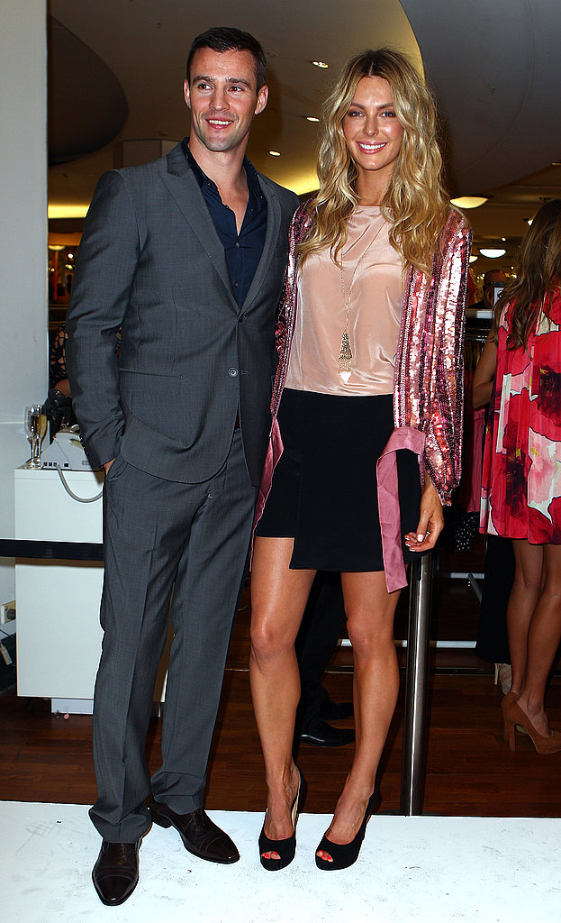 Kris Smith and Jennifer Hawkins