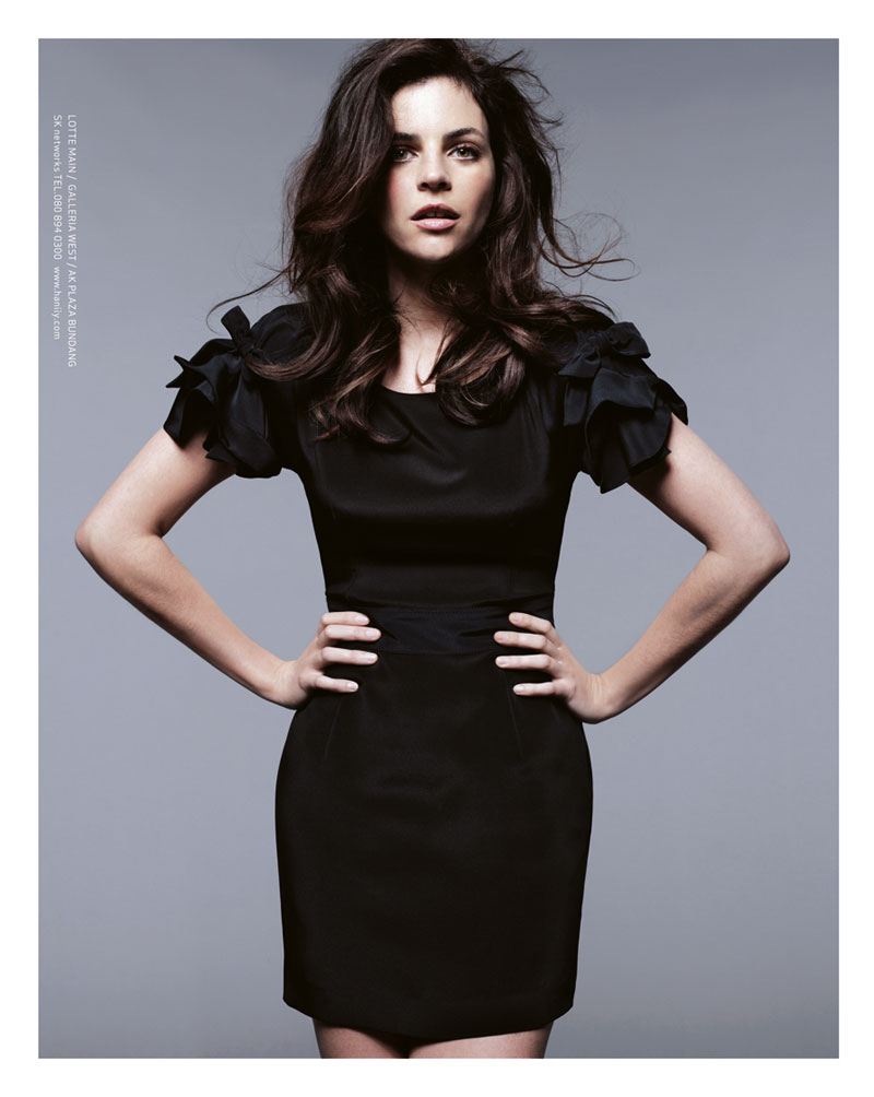 Julia Restoin Roitfeld for Hanii Y Fall 2011