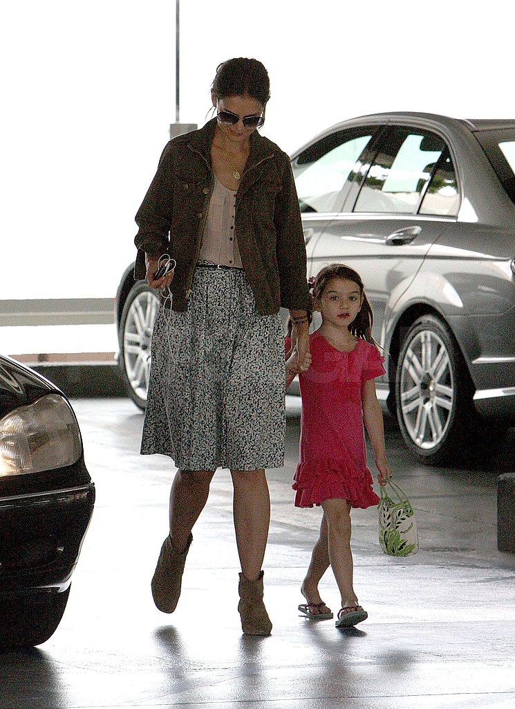 Katie Holmes and Suri Cruise are back in LA.
