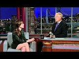 Video of Rose Byrne Having a Spelling Bee With David Letterman on The Late Show