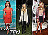 Pictures of This Week's Top Ten Best Dressed Celebrities, Including Kate Middleton, Scarlett Johansson, Nicole Richie