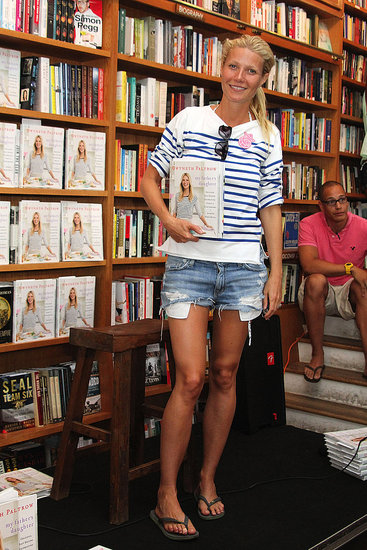 Gwyneth Paltrow Hosts a Hamptons Book Signing Prior to Irene's Landfall