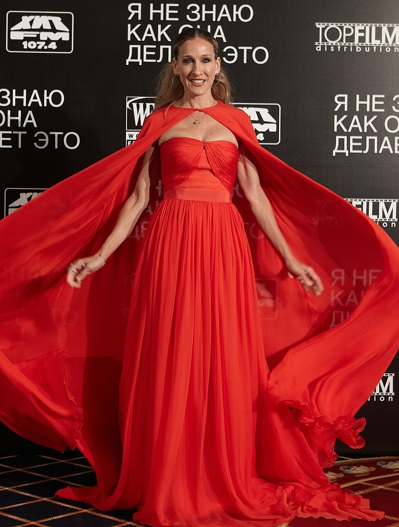 Sarah Jessica Parker premieres I Don't Know How She Does It in Moscow.