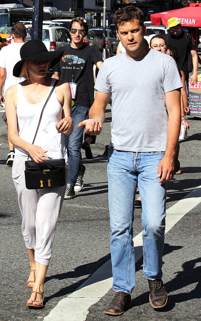 Joshua Jackson and Diane Kruger caught a movie together in Vancouver.