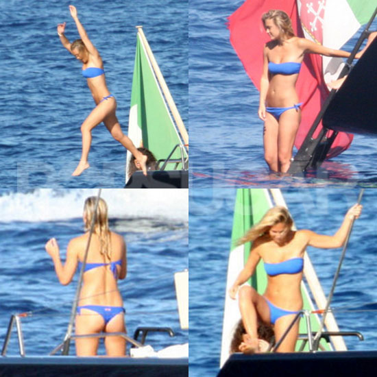 Bar Refaeli Sets Sail on Her Latest Bikini Adventure!