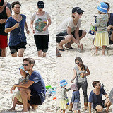 Carey Mulligan Joins Tobey Maguire and His Family For a Beach Day in Sydney