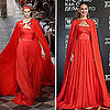 Sarah Jessica Parker&#039;s Red Cape 2011-08-29 08:34:43