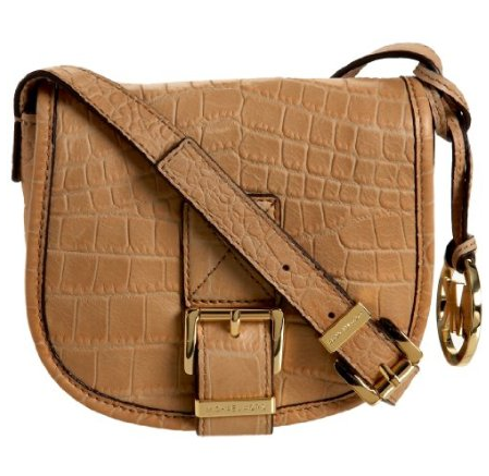 Michael Michael Kors Small Saddle Bag ($198)