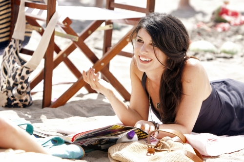 Shenae Grimes as Annie on 90210.  Photo courtesy of The CW