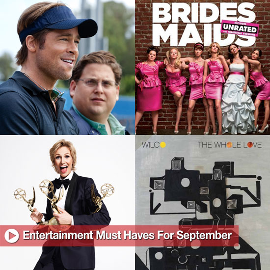 Editor's Picks: Entertainment Must Haves For September