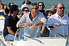 George Clooney Arriving in Venice For Film Festival