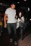 Kris Humphries and Kim Kardashian together in NYC.