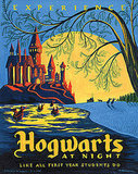 Hogwarts at Night ($50)