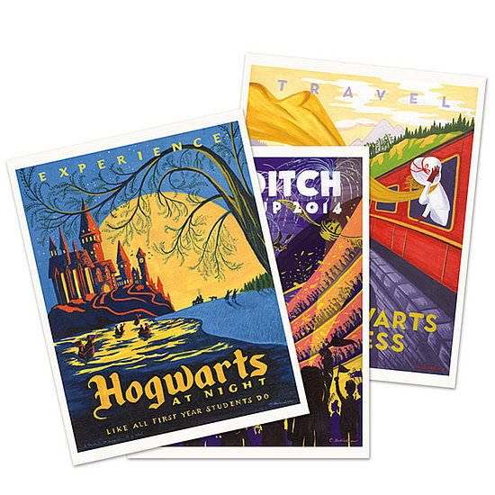 Vintage Hogwarts Travel Posters For Your Wizard-Loving Walls