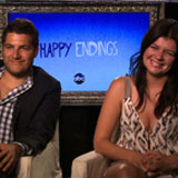 Happy Endings Interview Video With Adam Pally & Casey Wilson
