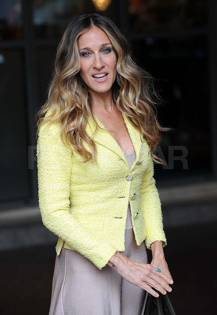 Sarah Jessica Parker out in London.