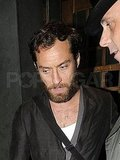 Jude Law sported a beard.
