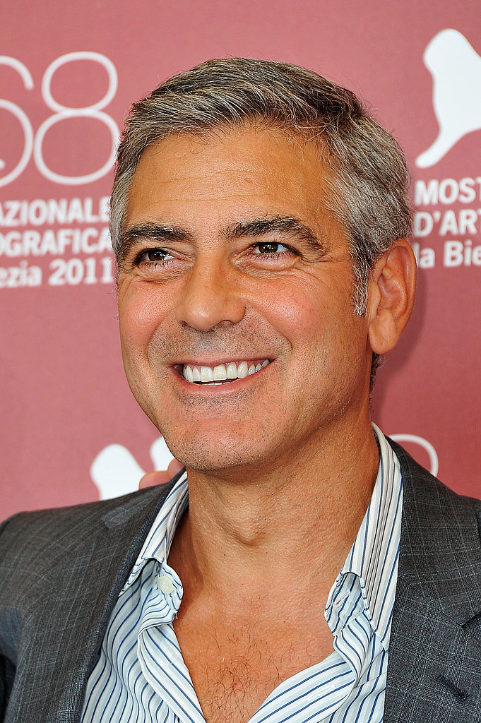 George Clooney promotes The Ides of March.
