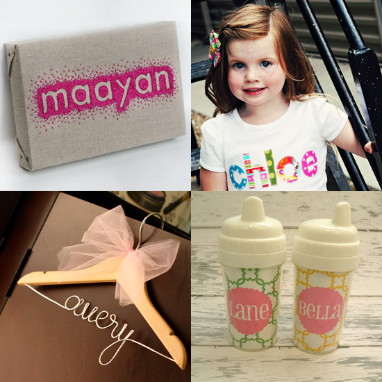 Creative Ideas to Display Baby&#039;s Name