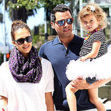 Jessica Alba and Cash Warren Treat Big Sister Honor to a Family Lunch