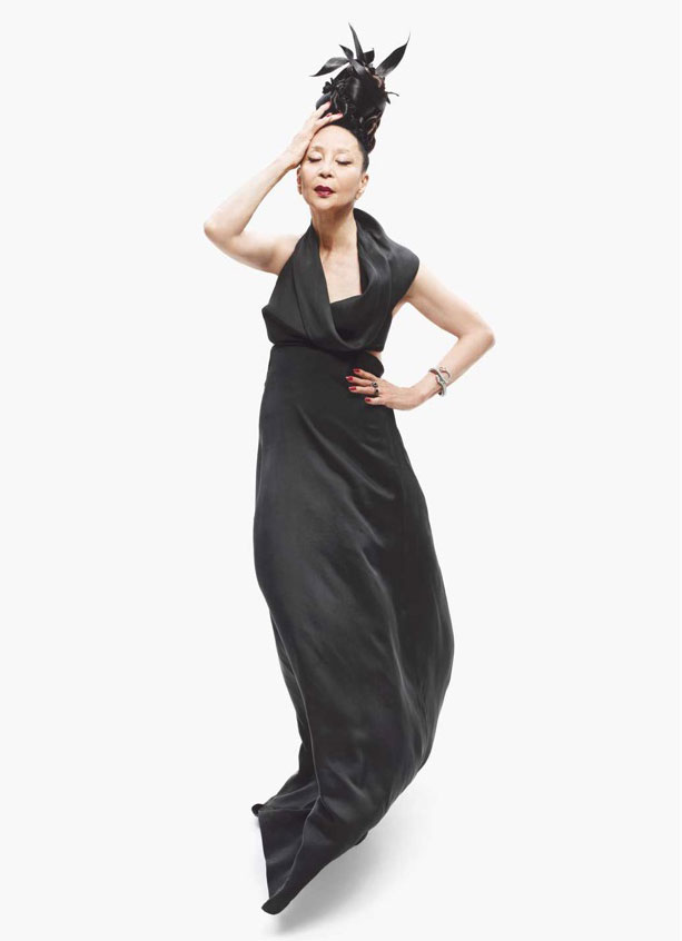China Machado in Derek Lam