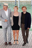 Kate Winslet, Christoph Waltz, and John C. Reilly together in Italy.