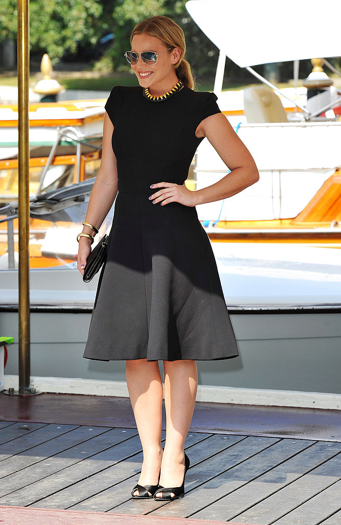 Abbie Cornish at the Venice Film Festival for WE.