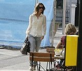 Pippa Middleton in jeans.