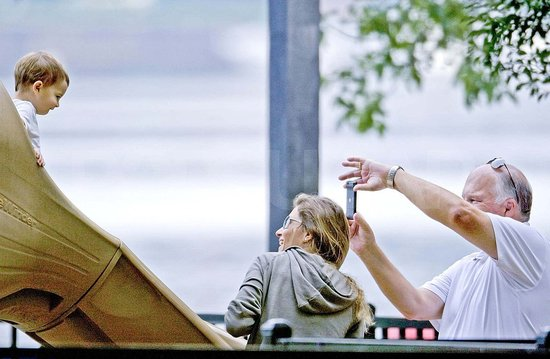 Gisele Bundchen and Ben Hit the Playground With Proud Grandpa Tom Brady!