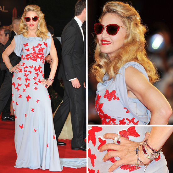 Madonna Goes Ladylike and Gorgeous at Venice Film Festival