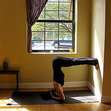 Bound Headstand Against a Wall