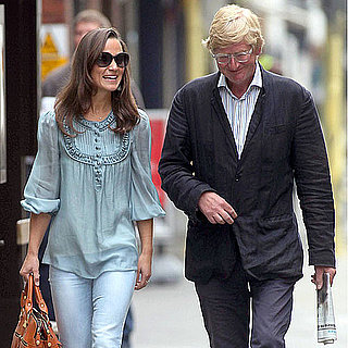 Pippa Middleton Pictures in Jeans With a Guy Friend in London