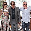 Michael Fassbender Pictures at Venice With Keira Knightley