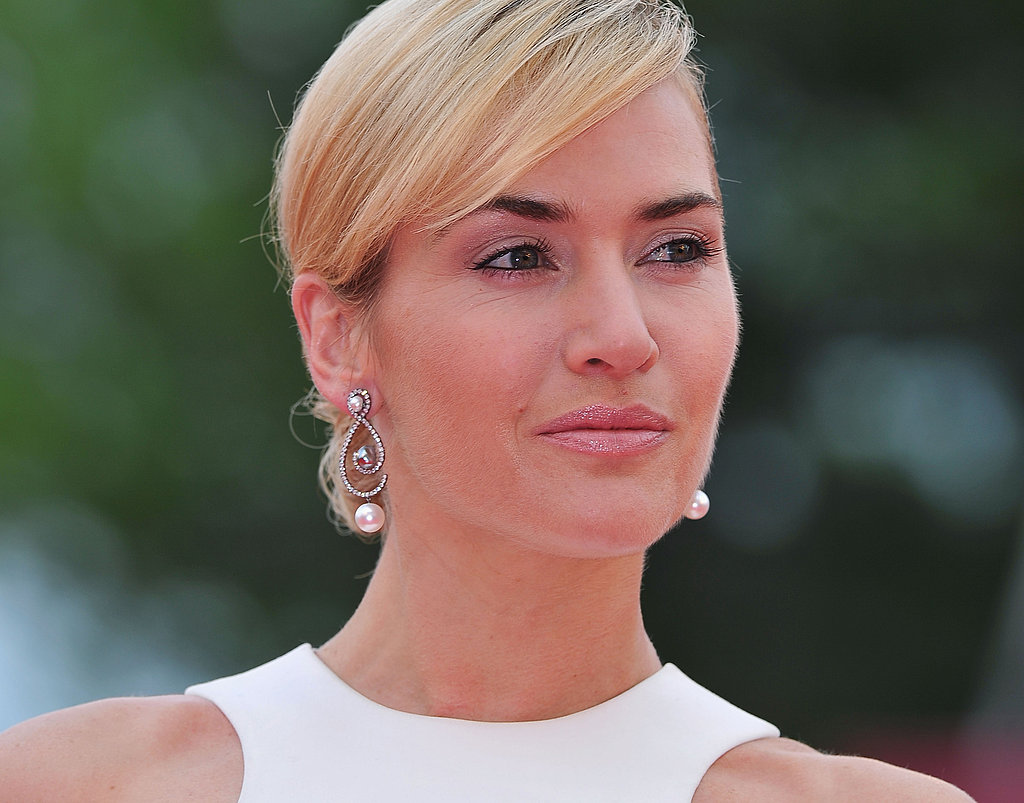 Kate Winslet at the Mildred Pierce premiere in Venice.