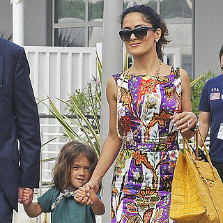 Salma Hayek With Valentina in Venice