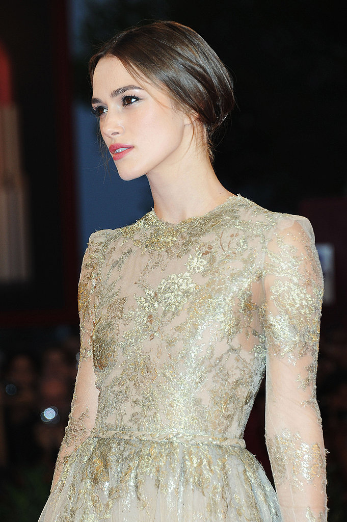 Keira Knightley at the Venice Film Festival.
