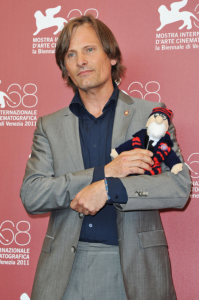 Viggo Mortensen at the Venice Film Festival.