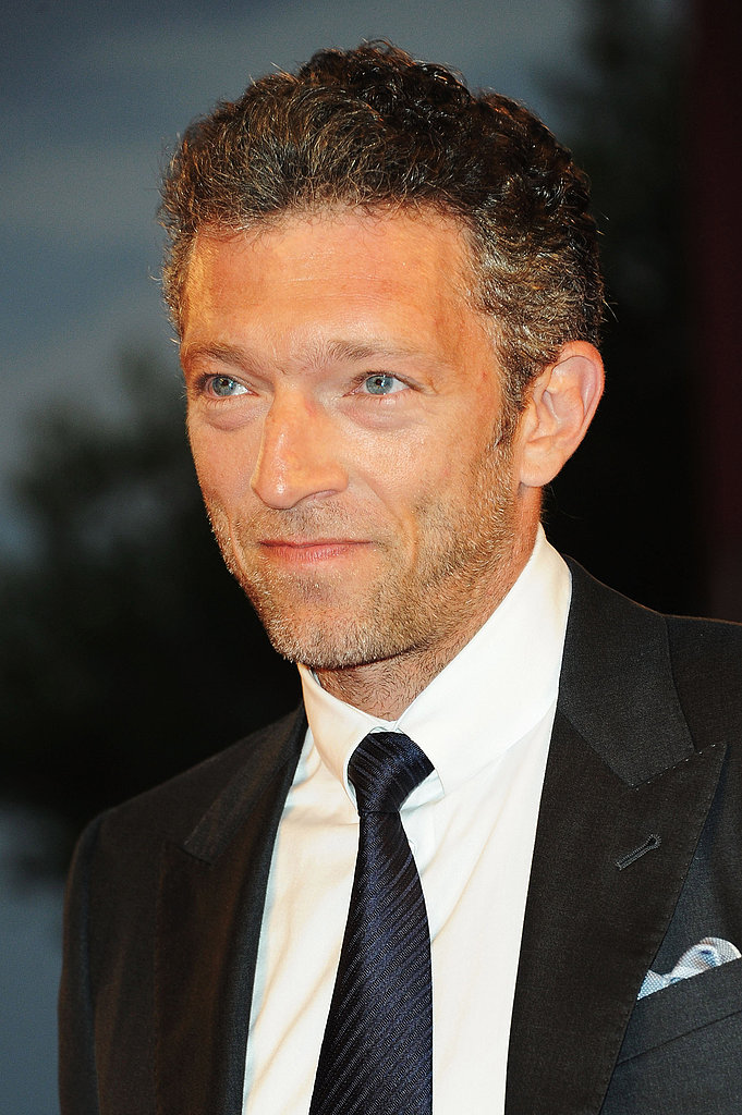 Vincent Cassel on the Venice Film Festival red carpet.