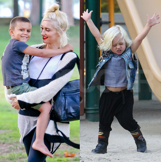 Gwen Stefani, Kingston, and Zuma Gear Up For a Long Weekend With a Park Play Day