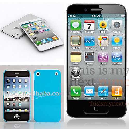 iPhone 5 Mock-Ups