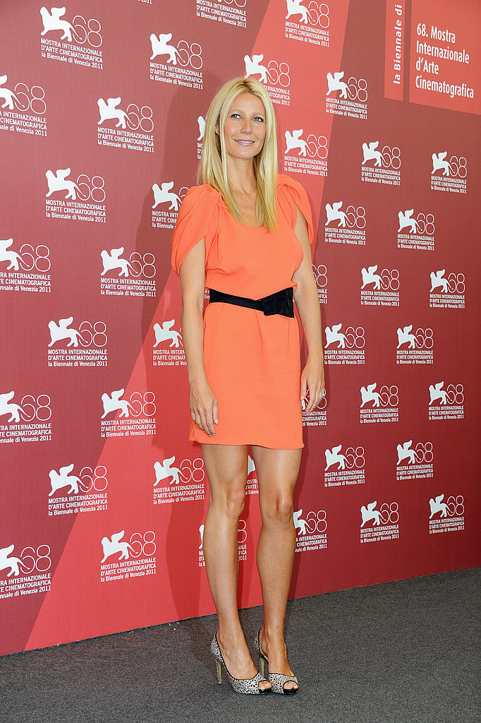 Gwyneth Paltrow in Prada at Venice.