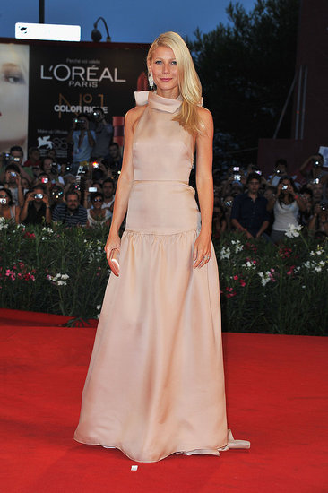 Gwyneth Paltrow Gets Glamorous For the Venice Premiere of Contagion