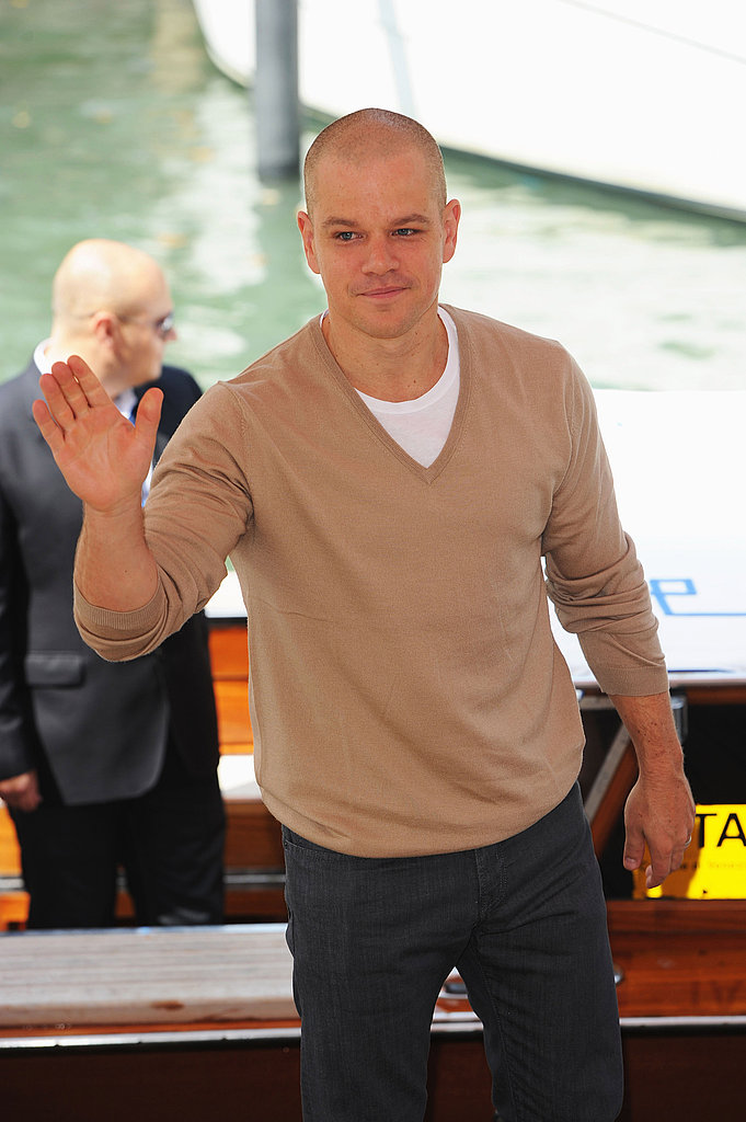 Matt Damon at the Venice Film Festival.