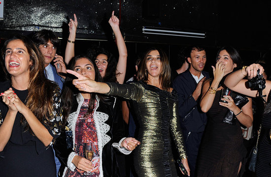 See Snaps from Carine Roitfeld and Barneys's Karaoke Party