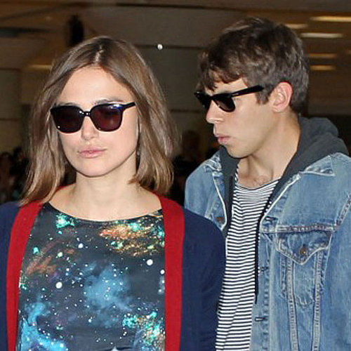 Keira Knightley With James Righton in Toronto [Pictures]